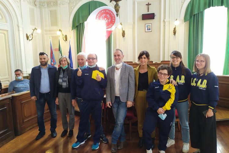 La conferenza stampa di Special Olympics a Palazzo Oropa
