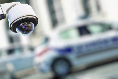 Foto telecamera di sicurezza