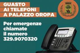 Un guasto mette fuori uso i telefoni di palazzo Oropa