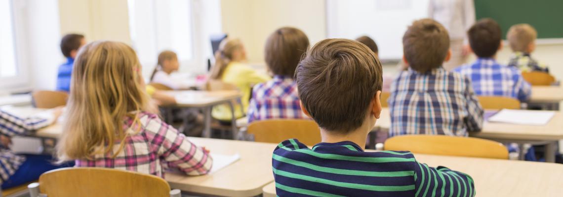Foto aula scuola elementare