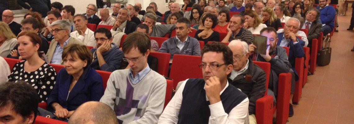 Il pubblico a Palazzo Ferrero per #BiellaProgetta
