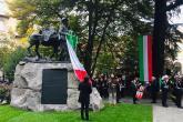 L'inaugurazione del monumento restaurato
